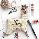 Llama Love Clock