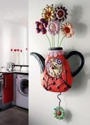 Flowe Tea Clock