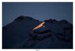 Levé de soleil sur Belledonne (3)