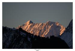 Levé de soleil sur Belledonne (2)