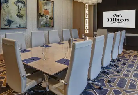 Hilton Hotel Nashville Board Room