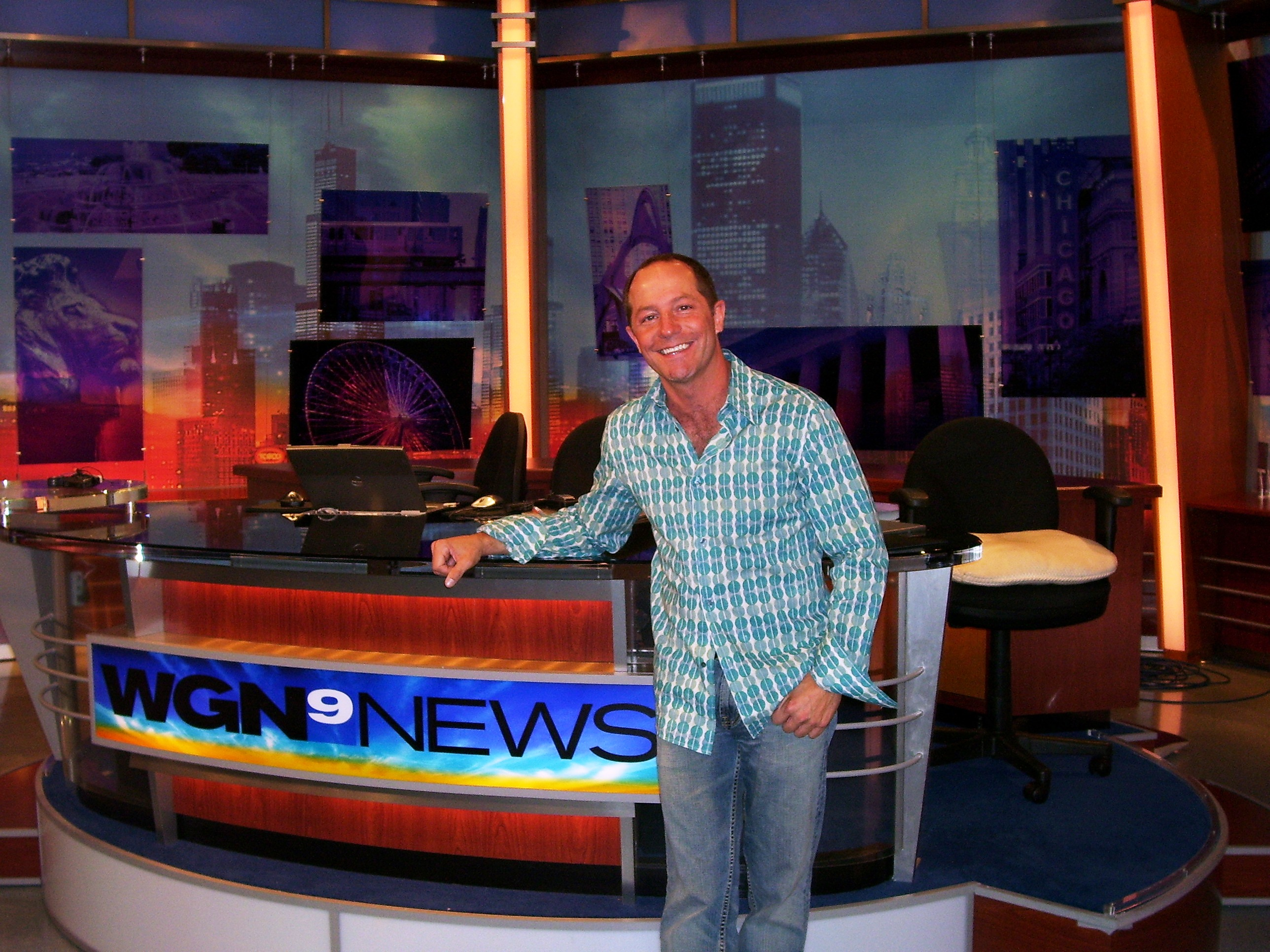 WGN Anchor Desk