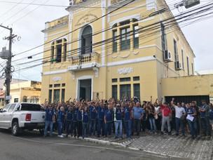 Policiais civis realizam café da manhã de alerta ao Governo de Sergipe