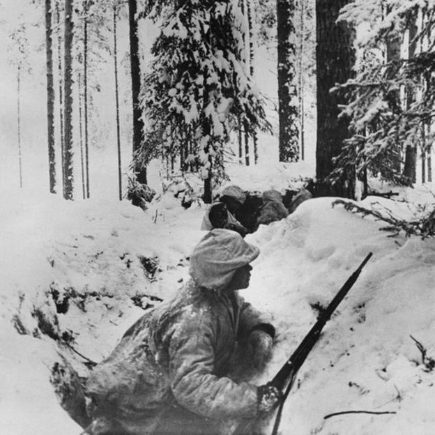 No inverno de 1939, Finlândia e União Soviética lutaram por território