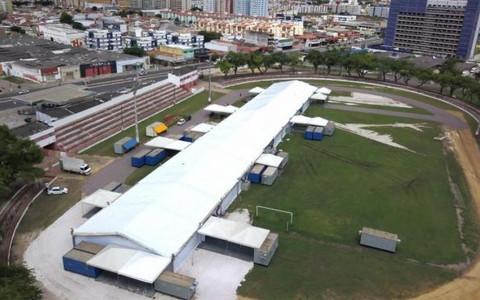 Hospital de Campanha de Aracaju começa a ser desativado