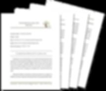 Ancestors' Personality Profile Report through Handwriting Analysis