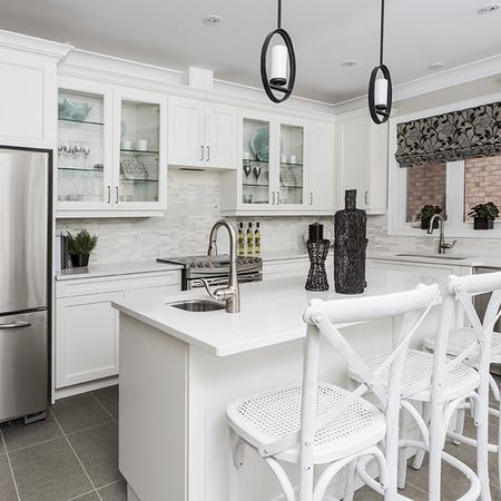 White Linen Kitchen