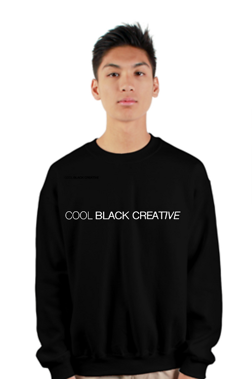 COOL BLACK CREATIVE SWEATSHIRT