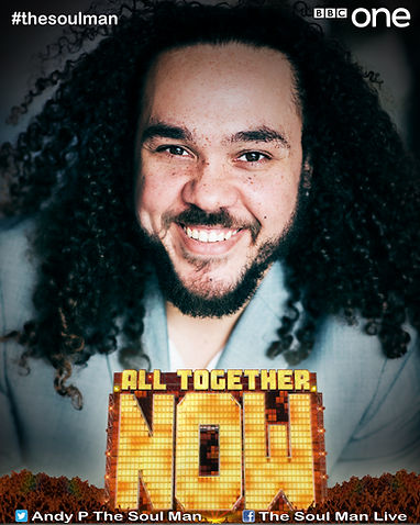 All Together Now Promotional Image with Andy Pierce The Soul Man