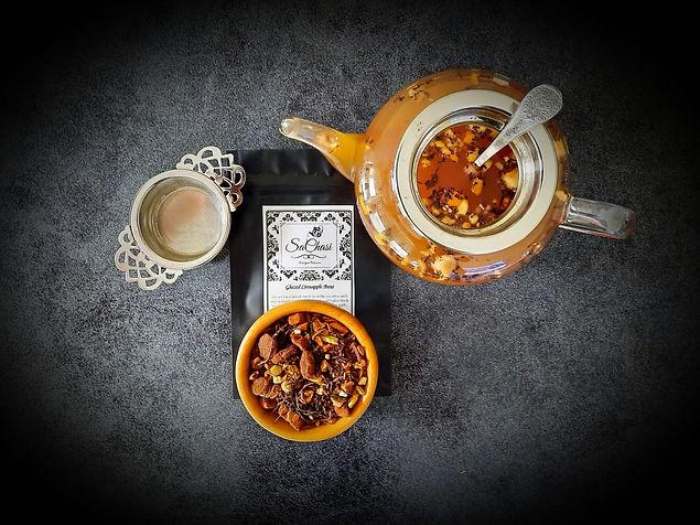close-up teapot cinnapple