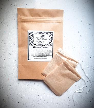 20 sachets de thé naturel