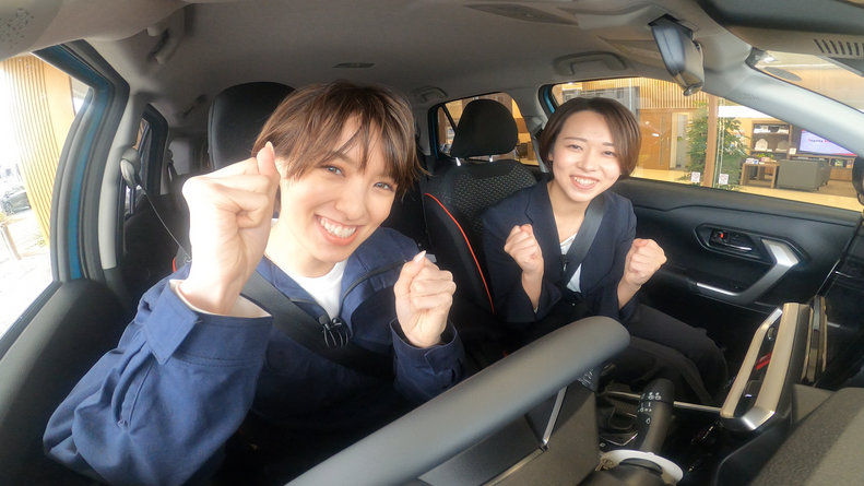MOBY×Toyota Mobility Tokyo「南明奈 おため試乗」
