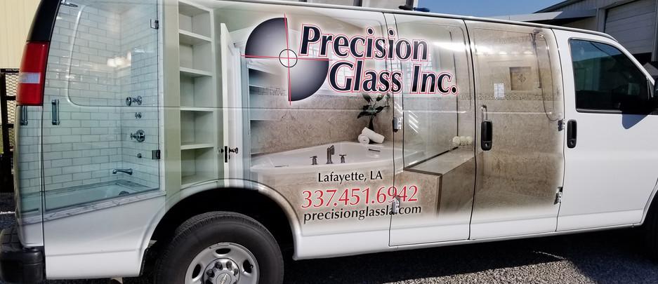 Precision Glass-Van Partial Wrap.jpg