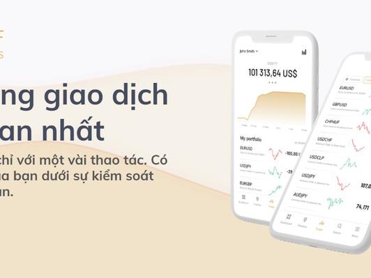 Ứng dụng giao dịch đơn giản cho các nhà đầu tư mới