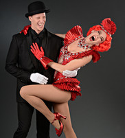 Andrew Cook and Hayley Martin