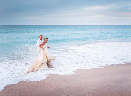 Beach Wedding in Tara LaTour
