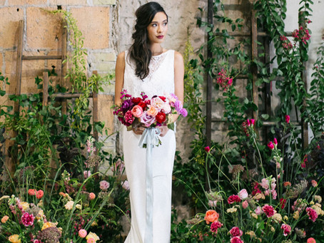 How to add color to your Modern Wedding