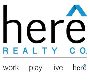 Branding for Here Realty Co. in Salt Lake City