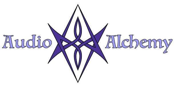 Audio Alchemy Logo Black Outline with te