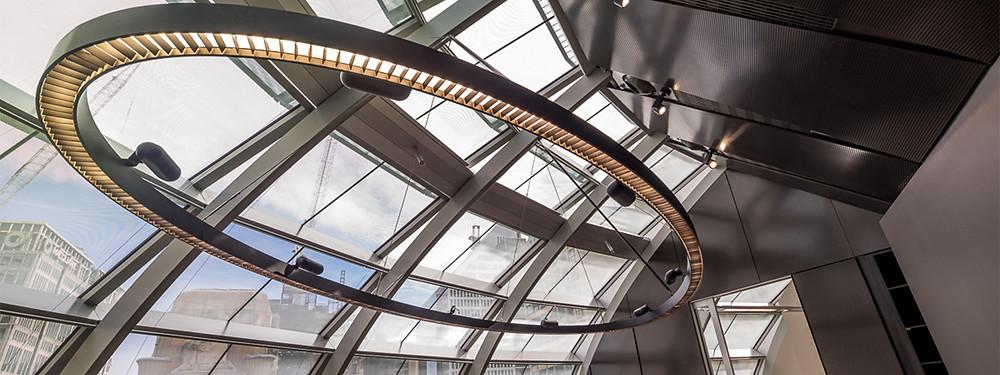 50 Martin Place - Macquarie Bank HQ boardroom feature LED pendant