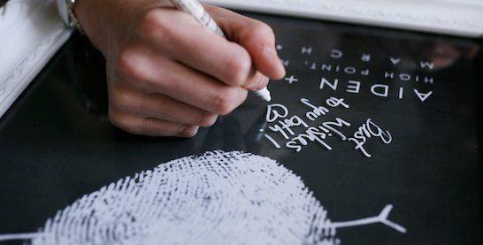 Alternatív vendégkönyv - Fingerprint (plakát)