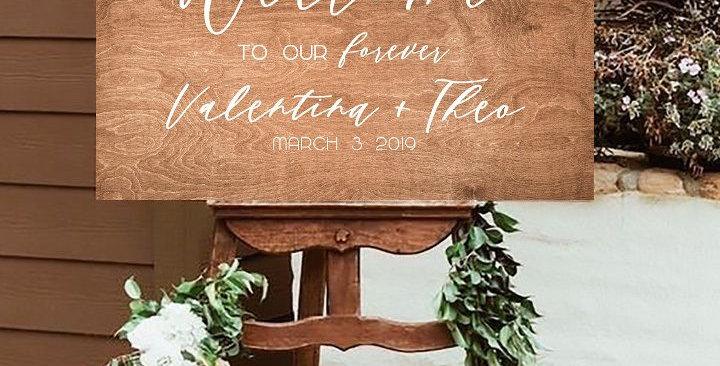 Festőállvány - Esküvői dekoráció