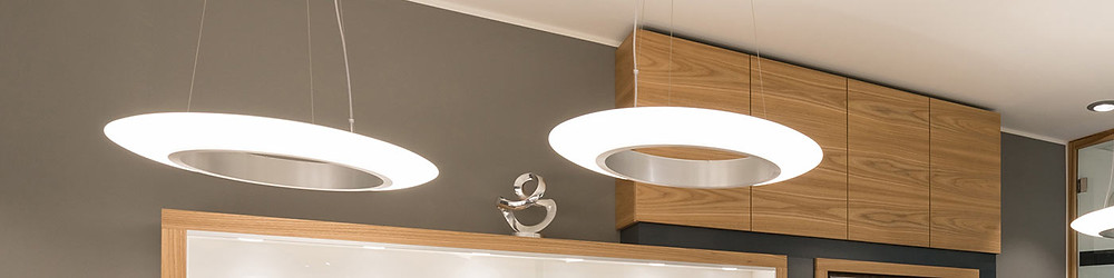 Ring of Fire pendant luminaires