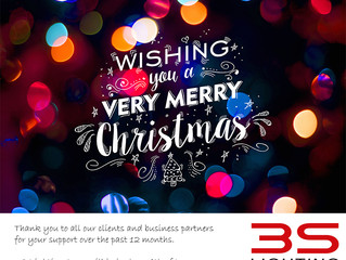 Merry Christmas from 3S Lighting