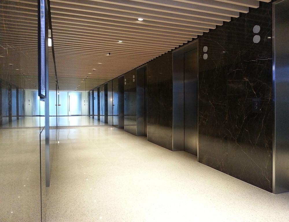 Grosvenor Place - Lift Lobbies