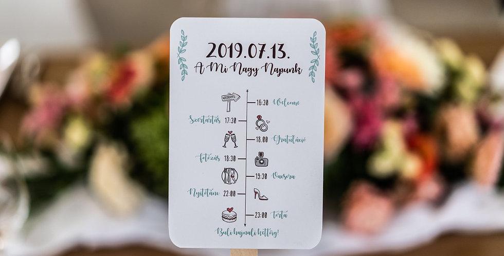 Esküvői legyező