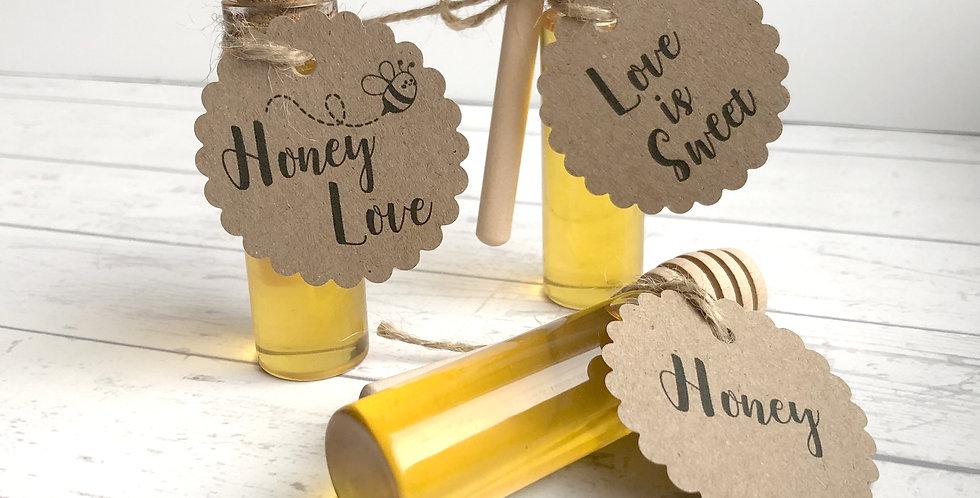 Méz parafadugós üvegcsében S-es méret