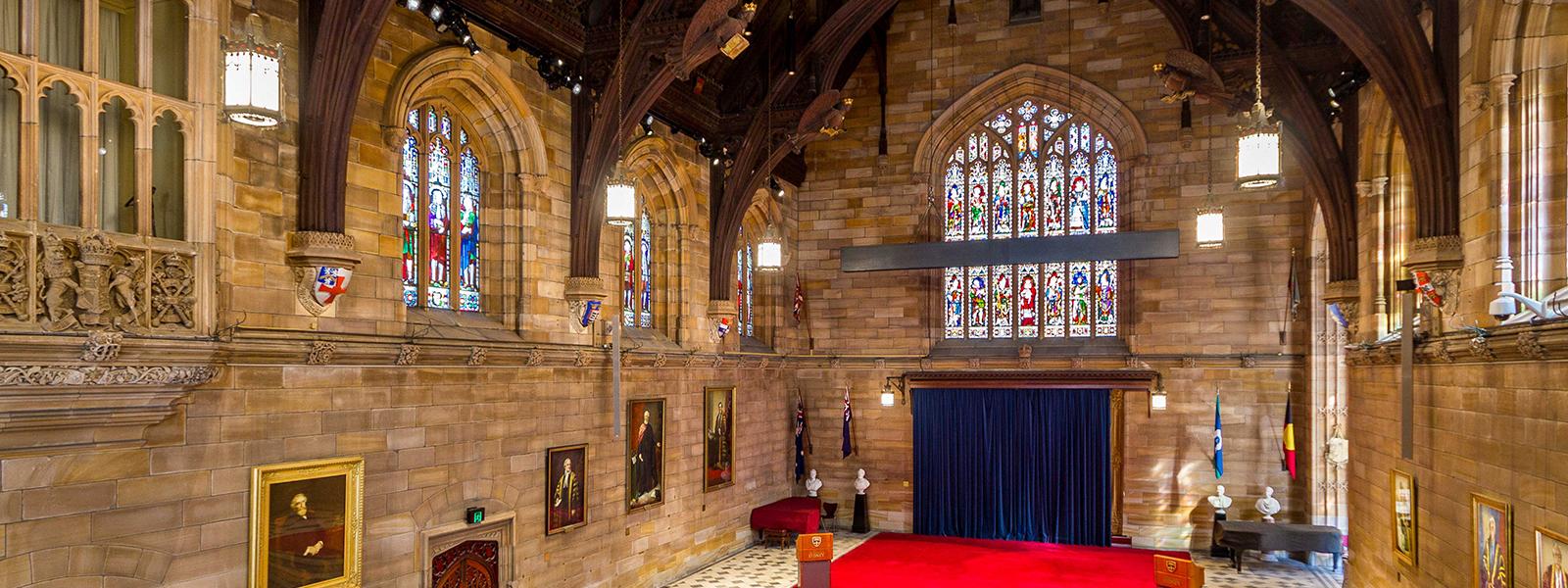Great Hall University of Sydney
