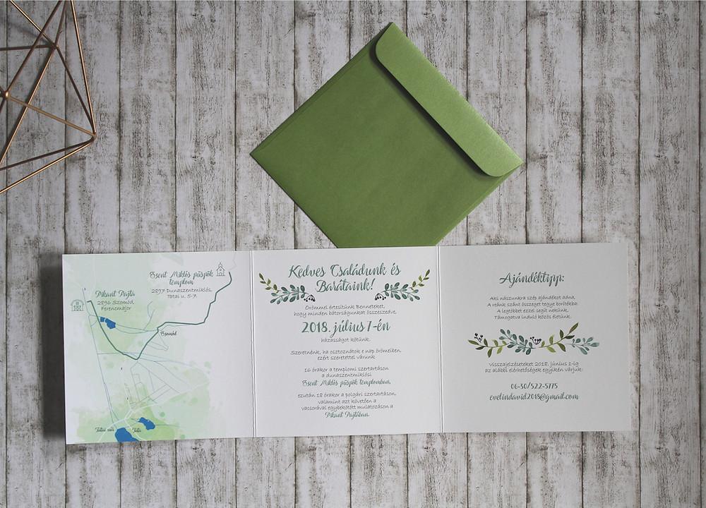 Esküvői meghívó
