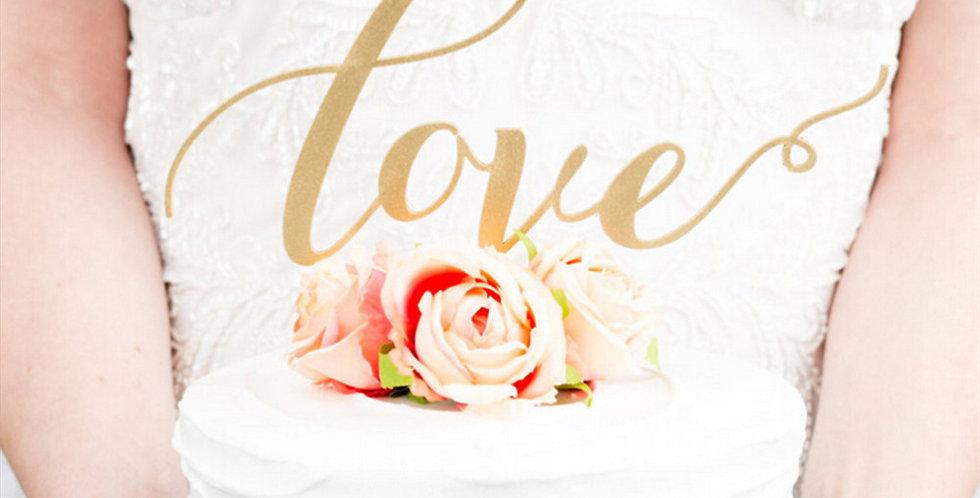 Esküvői Tortadísz