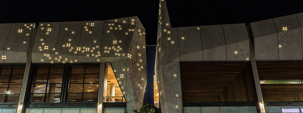 West Keira, Wollongong - custom LED facade feature