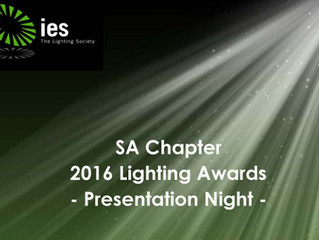 3S luminaires part of winning lighting design - 2016 IES SA LiDA Award of Commendation