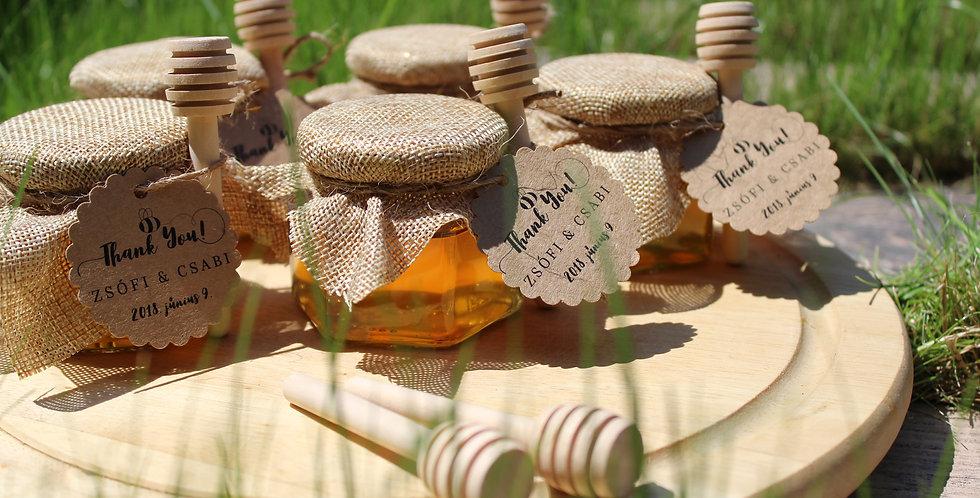 Méz üvegben