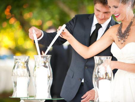 Esküvő ceremóniák - A gyertyaceremónia alternatívái