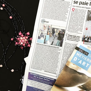 Article La Provence Expos Métiers d'Art 2017