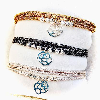 bracelet shiny camelia.jpeg
