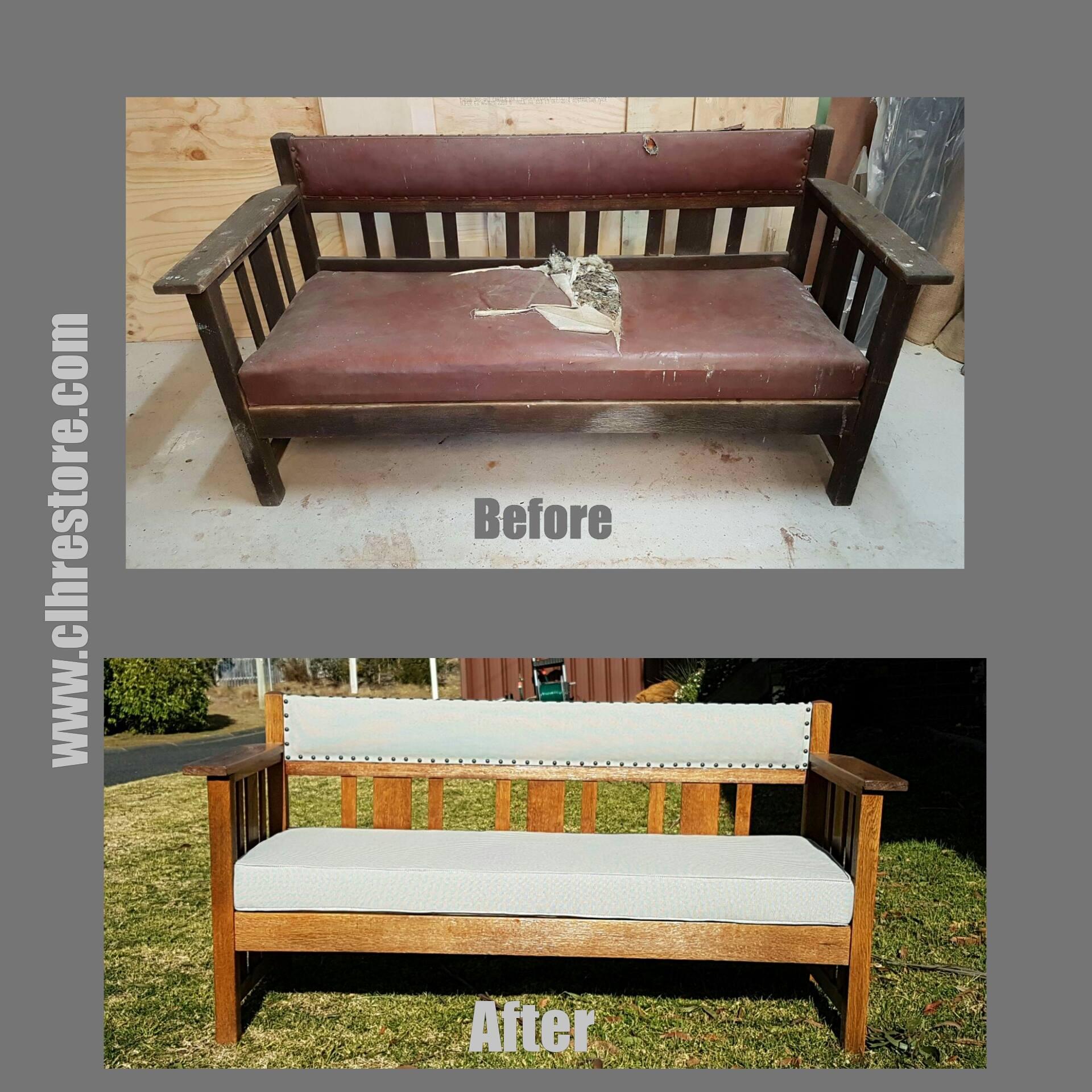 Outdoor seating restoration