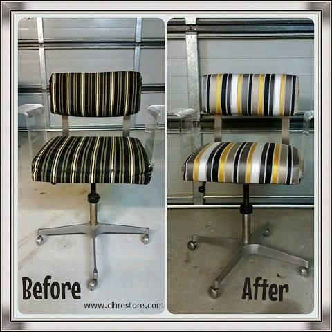 1970's swivel chair