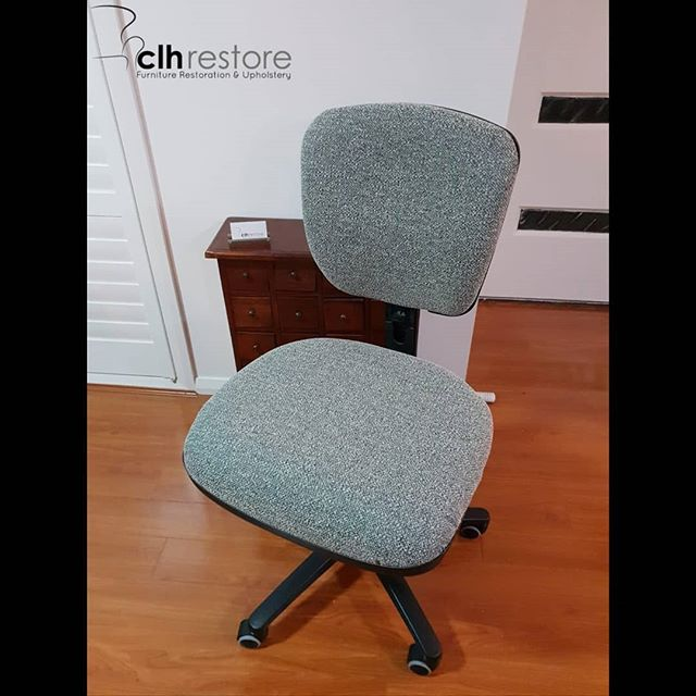 Another office chair recover