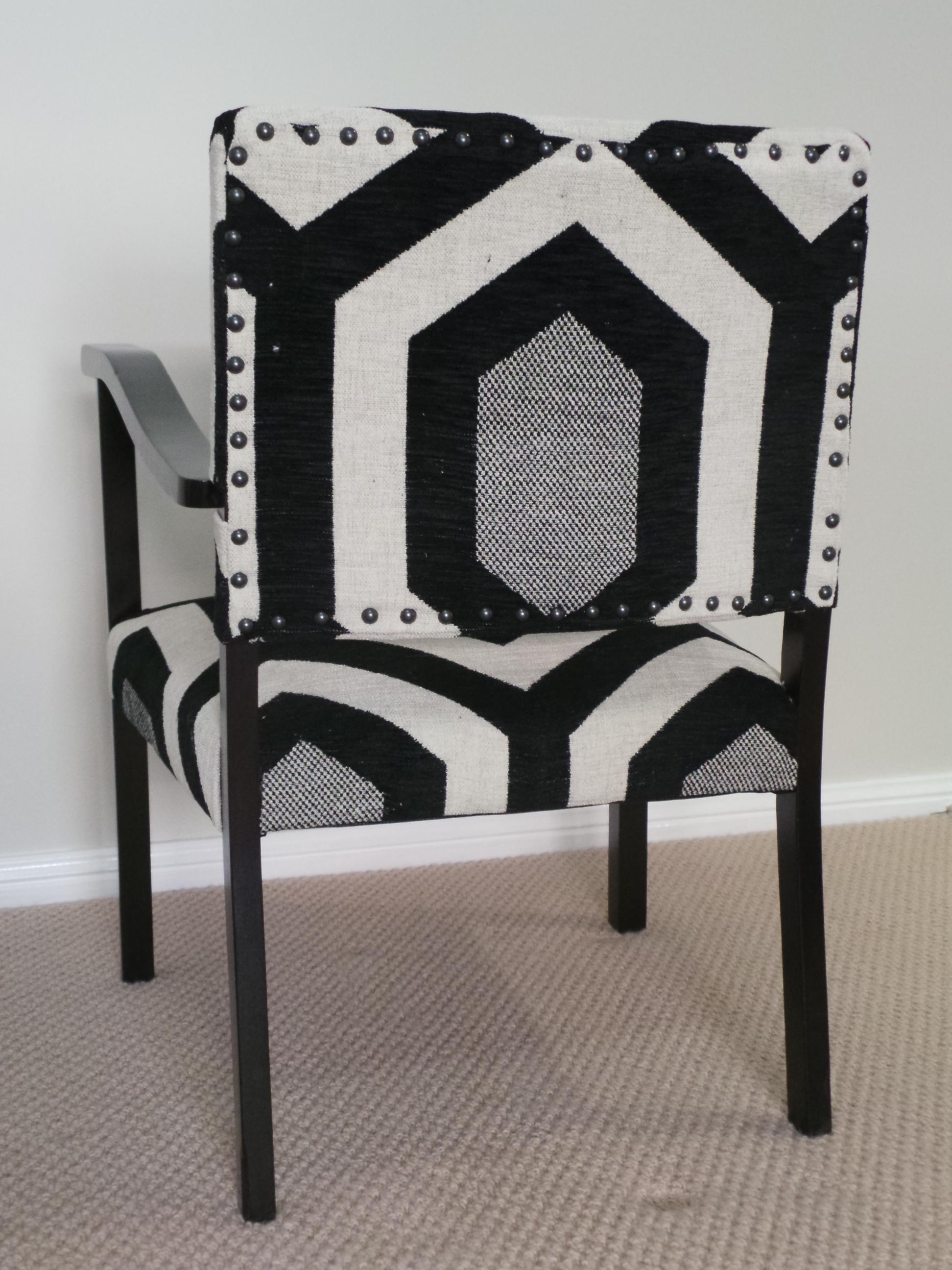 Bridge chair back