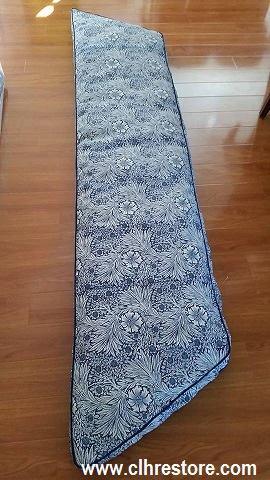 Banquette cushion cover