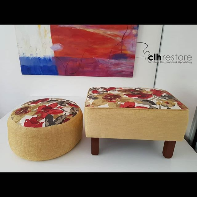 Couple of small footstools that we broug
