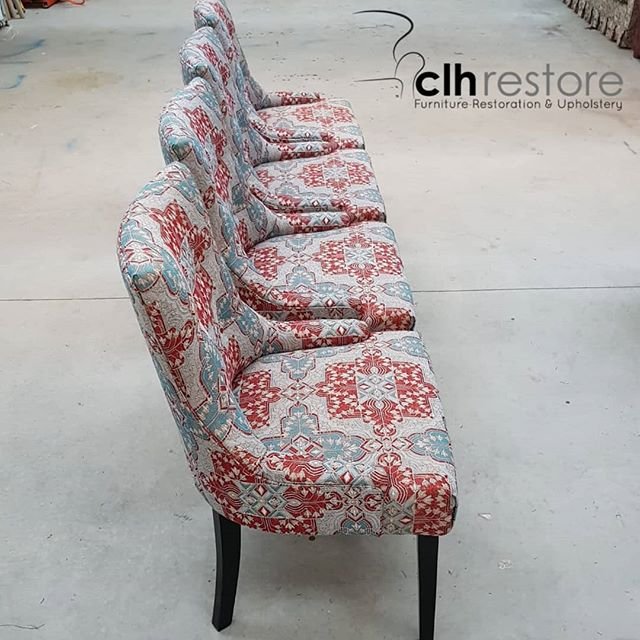 Just delivered 4 dining chairs