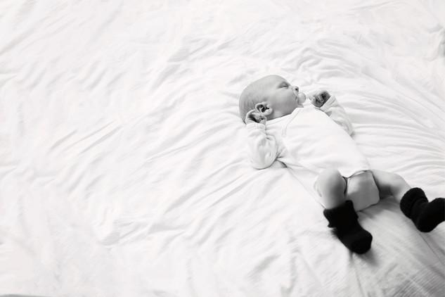Neugeborenes Homestory