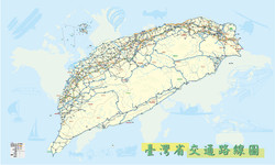 台灣交通地圖
