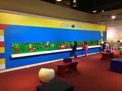 寶島時代村積木展互動區